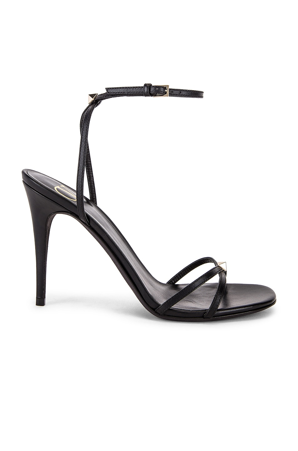 Image 1 of Valentino Garavani Strappy Heel in Nero