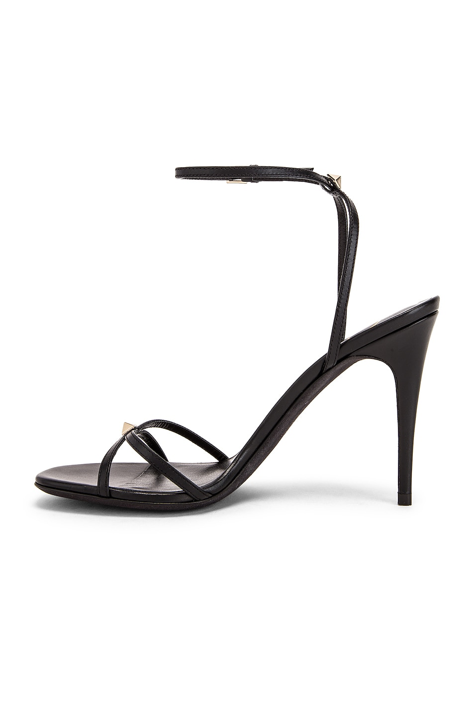 Image 5 of Valentino Strappy Heel in Nero