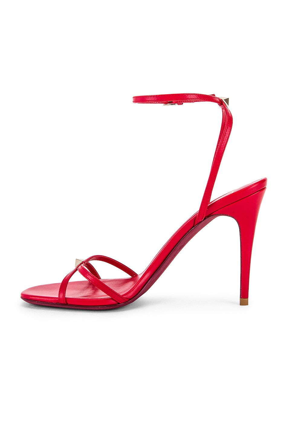 Image 5 of Valentino Strappy Heel in Rouge Pur