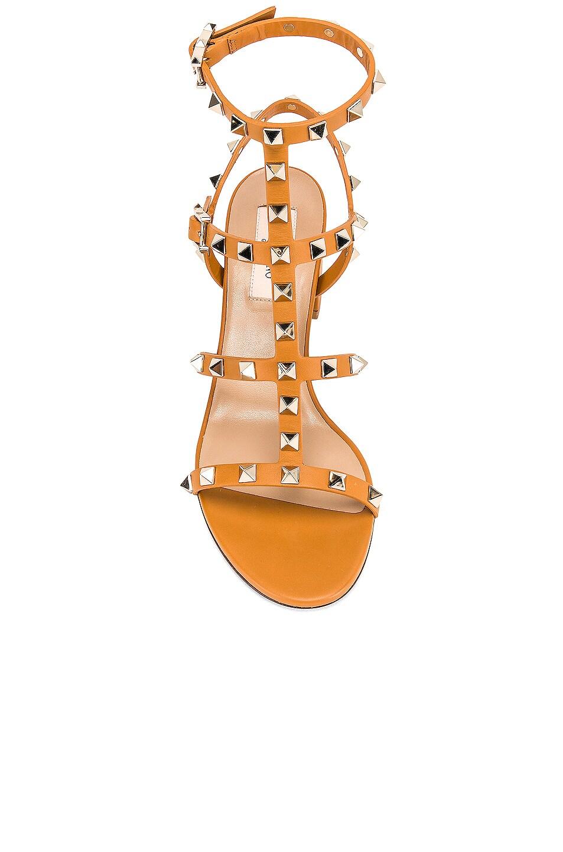 Image 4 of Valentino Rockstud Sandal in Tan