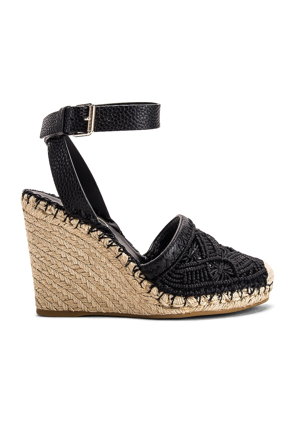 Image 1 of Valentino Marrakech Wedge Espadrille in Nero