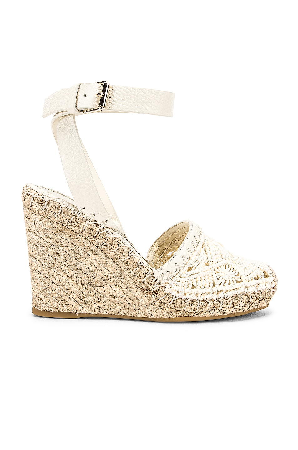 Image 1 of Valentino Marrakech Wedge Espadrille in Light Ivory