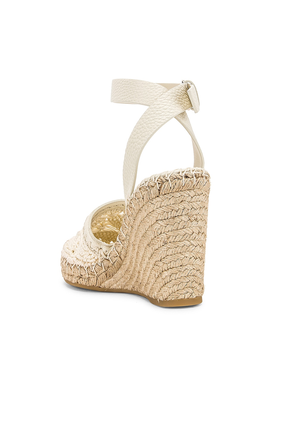 Image 3 of Valentino Marrakech Wedge Espadrille in Light Ivory