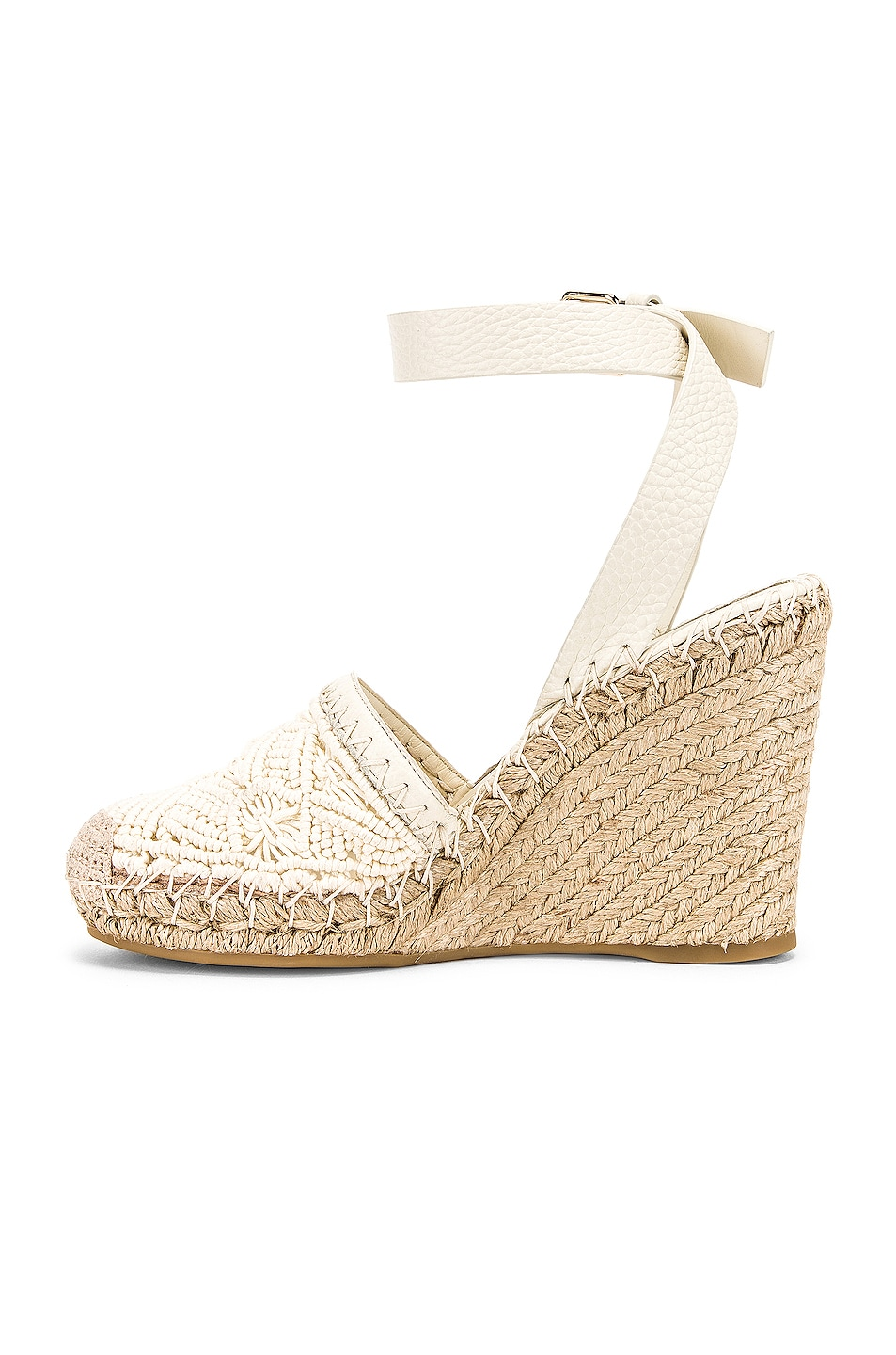 Image 5 of Valentino Marrakech Wedge Espadrille in Light Ivory