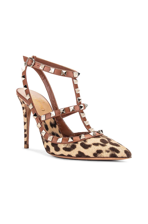 Image 2 of Valentino Rockstud Heels in Selleria