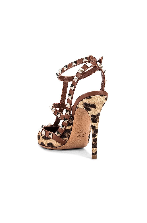Image 3 of Valentino Rockstud Heels in Selleria