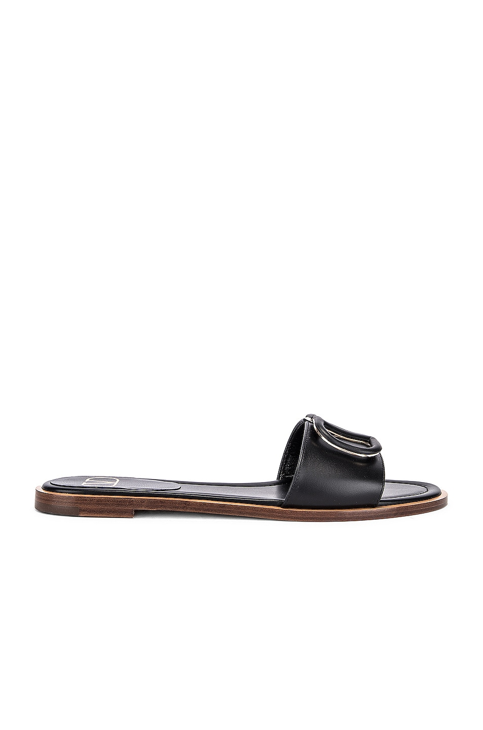 Image 2 of Valentino Vlogo Slides in Black