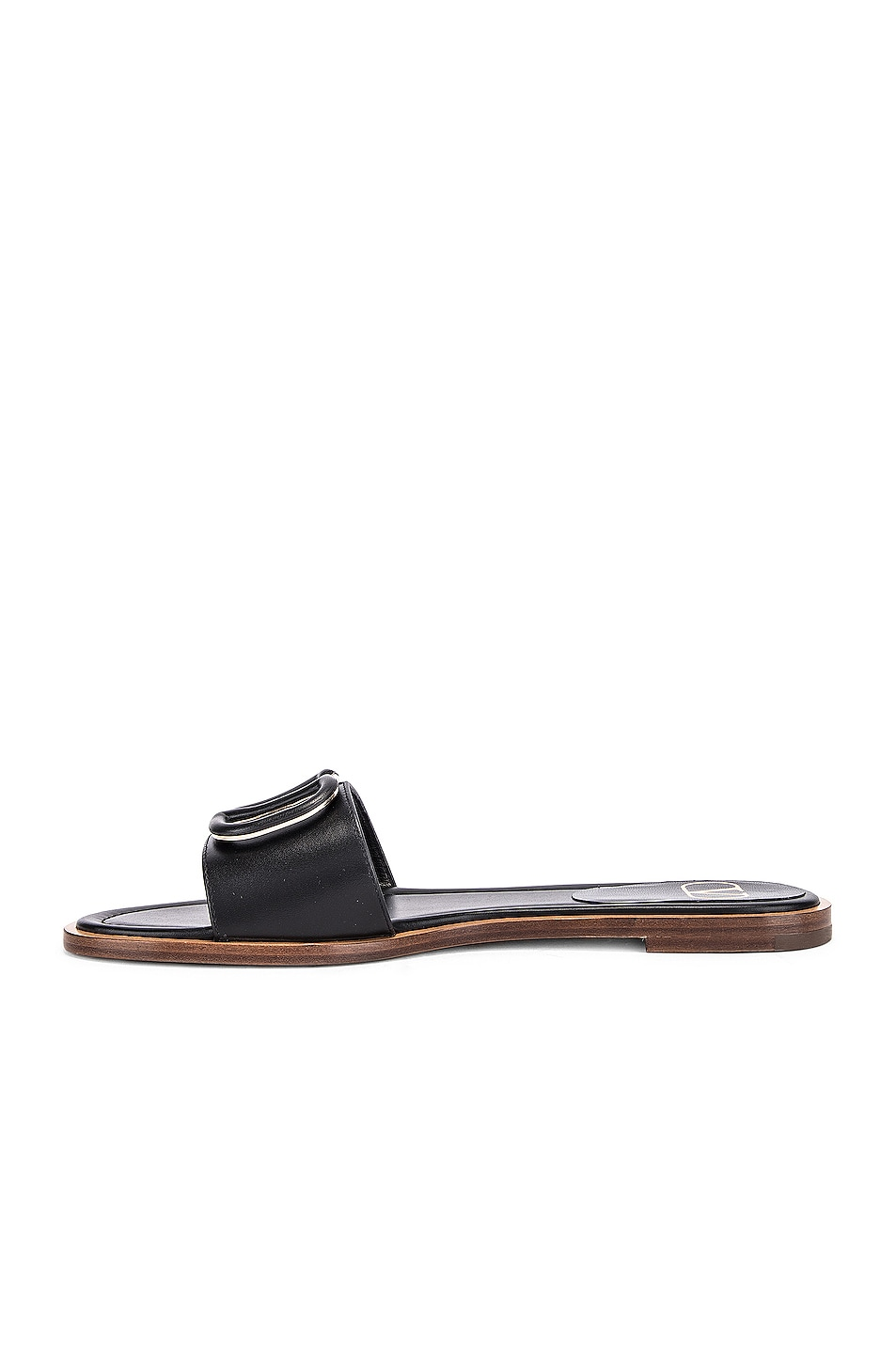 Image 5 of Valentino Vlogo Slides in Black