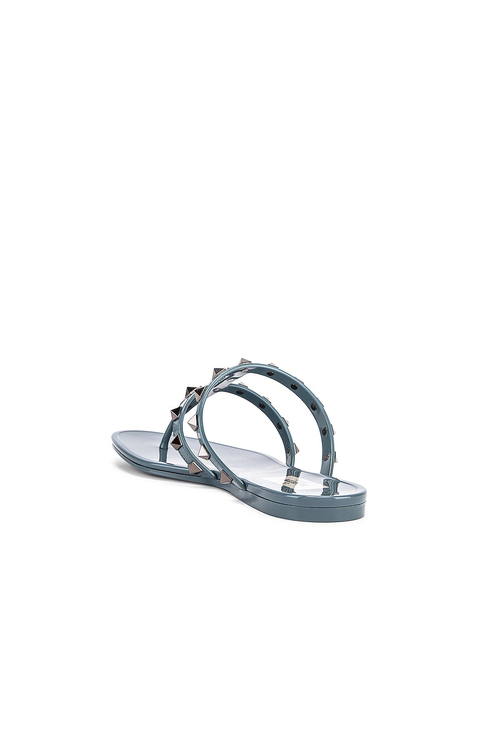 Image 3 of Valentino Rockstud Summer Thong Sandals in Amadeus