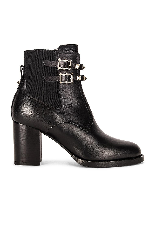 Image 1 of Valentino Garavani Beatle Boots in Nero