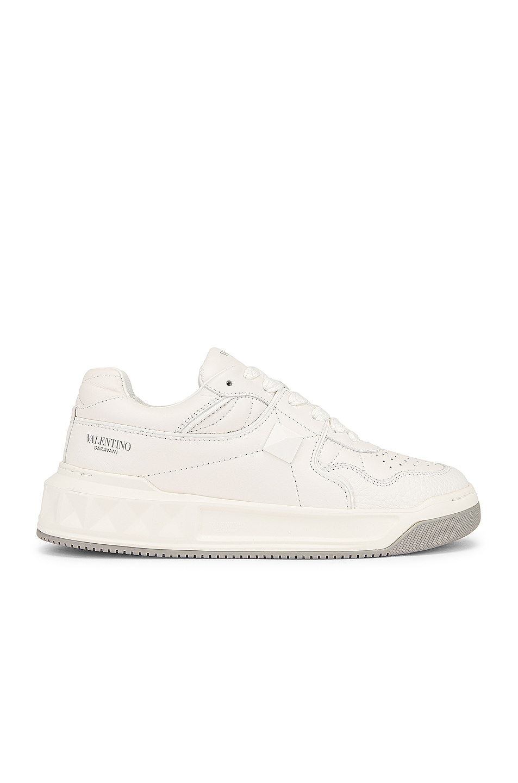 Image 1 of Valentino Garavani One Stud Sneakers in Bianco