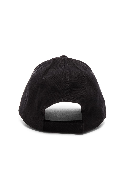 Image 4 of VETEMENTS Racing Securite Cap in Black