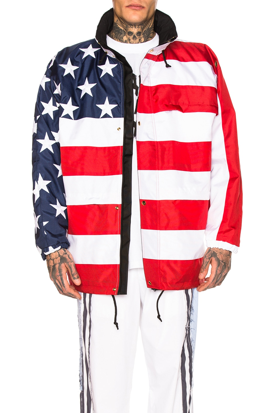 Image 1 of VETEMENTS Flag Jacket in USA