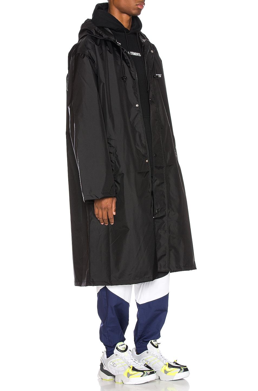 Image 3 of VETEMENTS Copyright Raincoat in Black & White