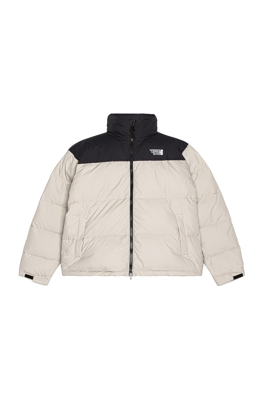 Image 1 of VETEMENTS Puffed Jacket in Grey & Black