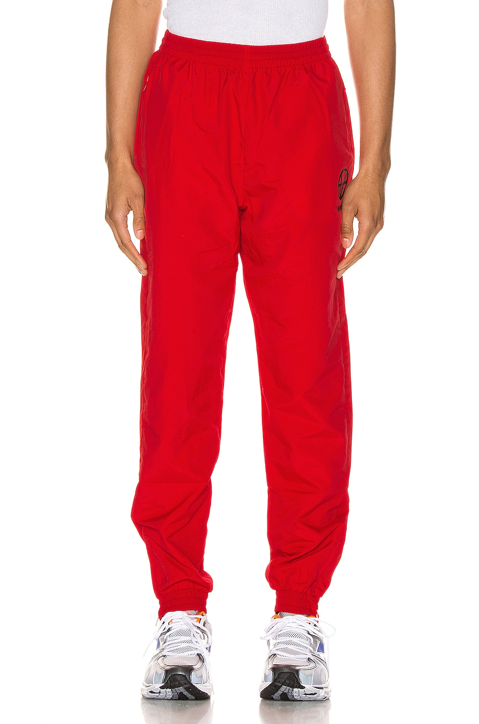 Image 2 of VETEMENTS Anarchy Tracksuit Pants in Red