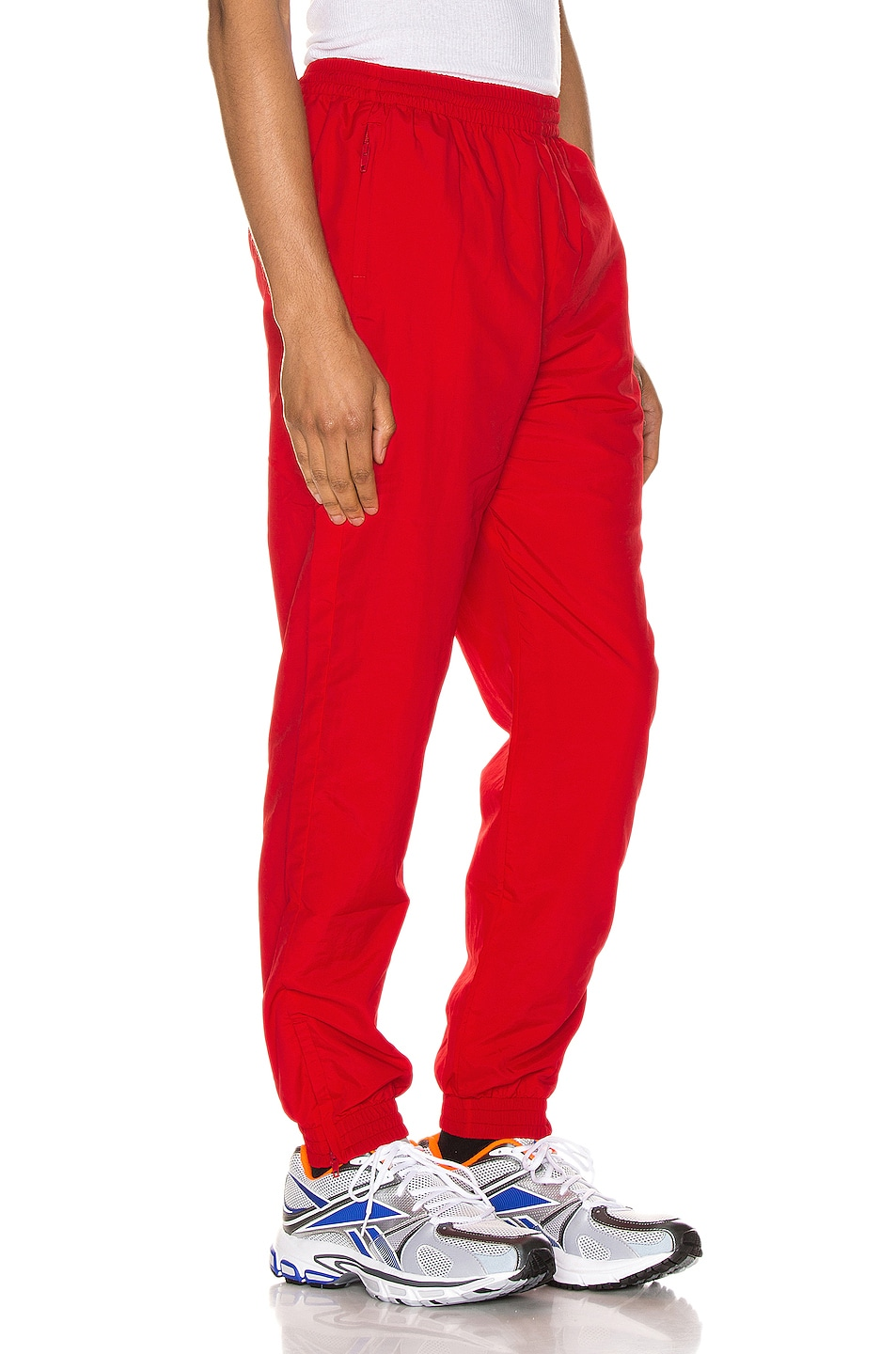 Image 3 of VETEMENTS Anarchy Tracksuit Pants in Red