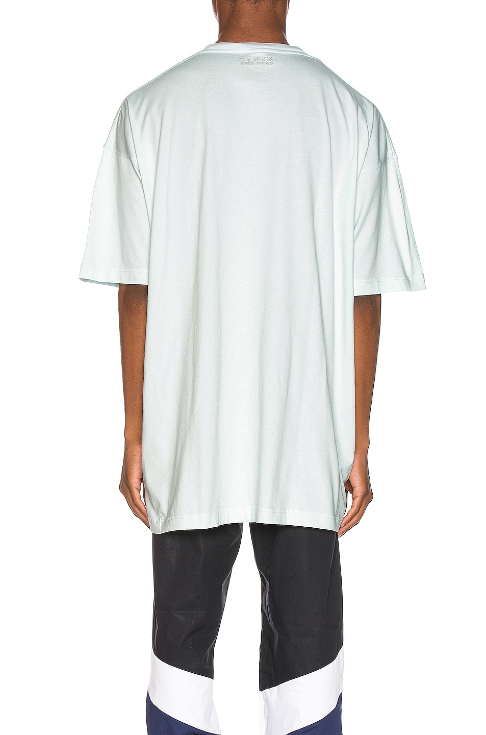 Image 3 of VETEMENTS Corporate Magazine Tee in Off White