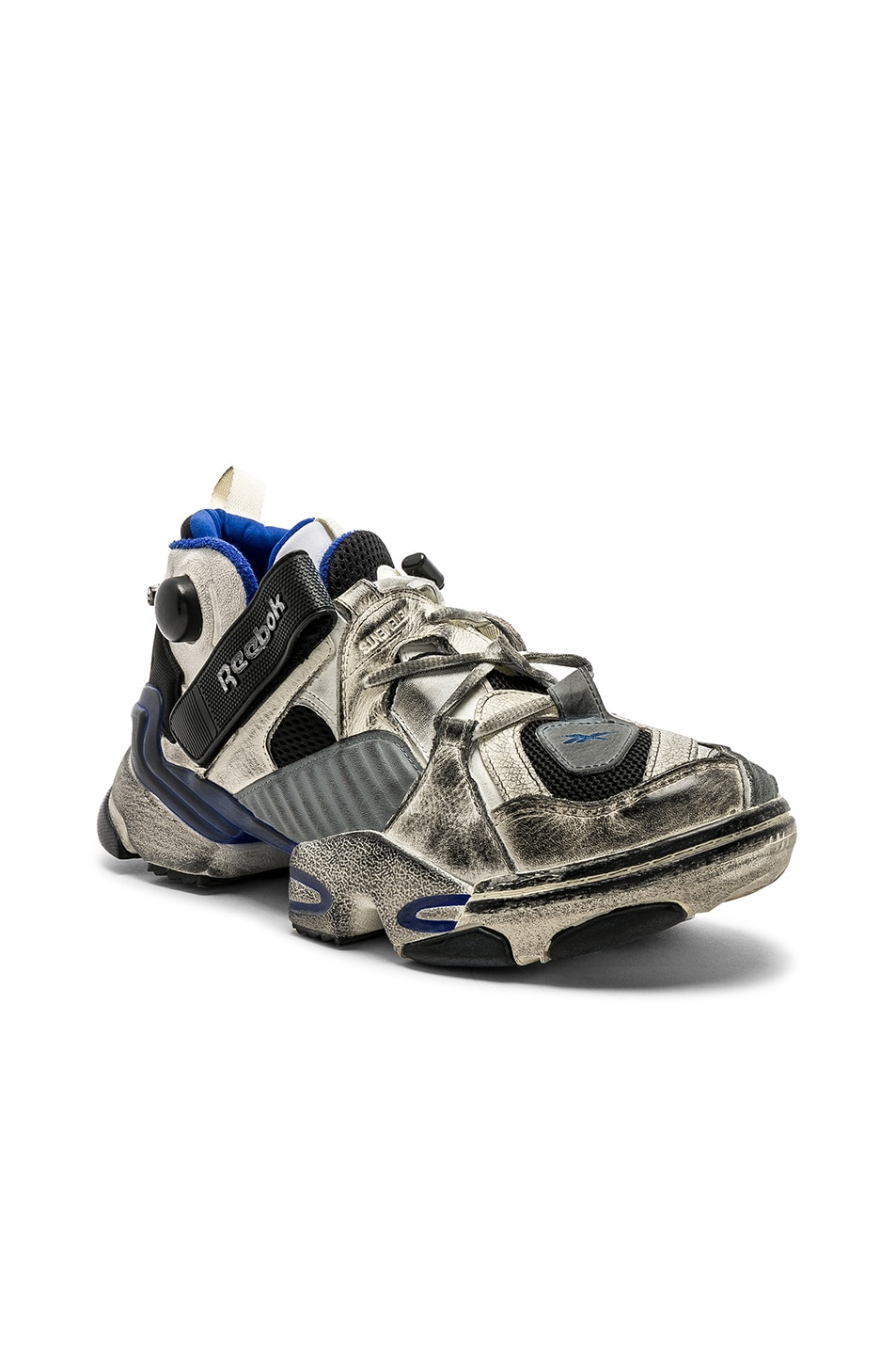 8fabe12df9d2 Image 1 of VETEMENTS x Reebok Genetically Modified Pumps in Multicolor