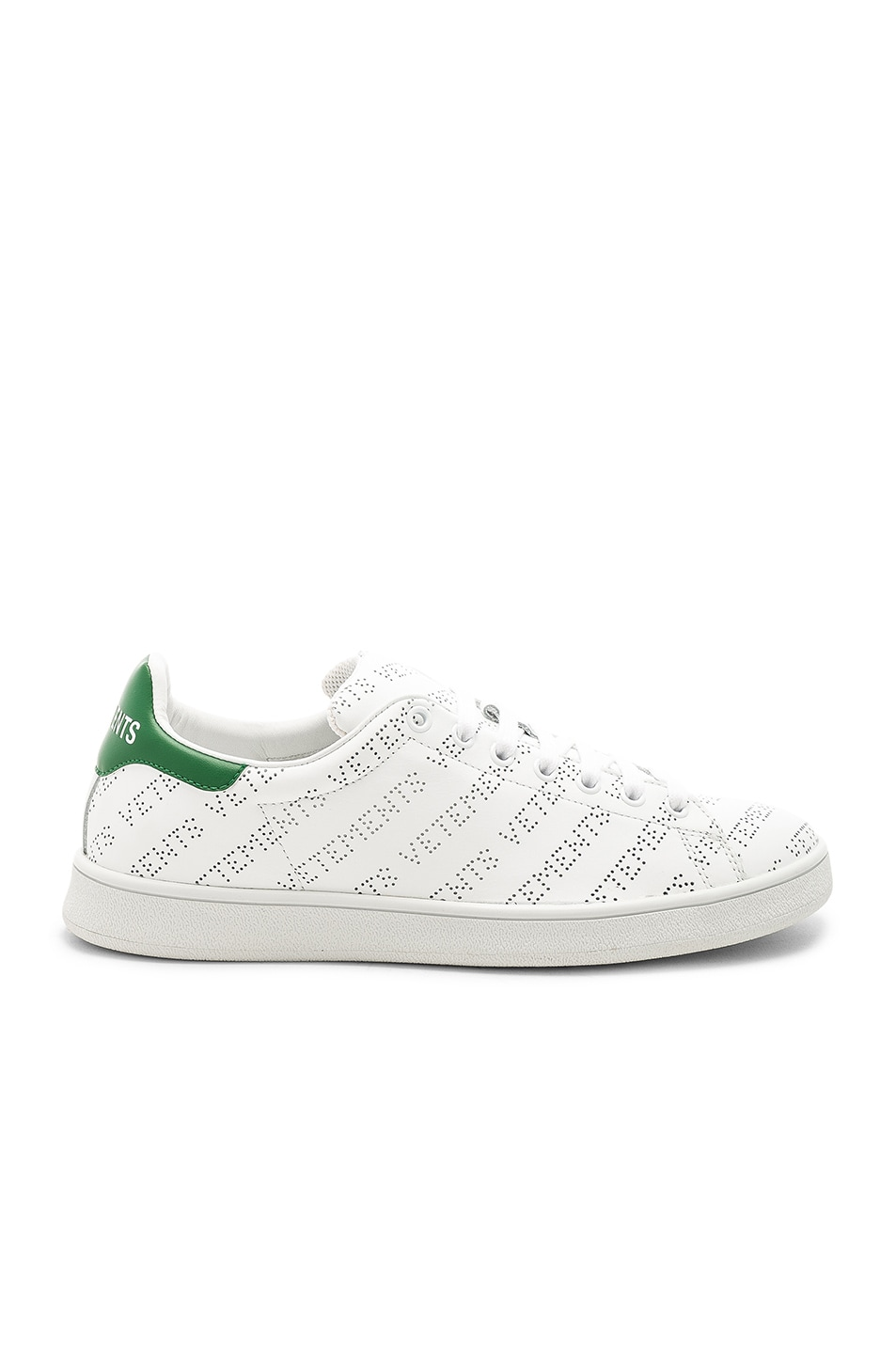 Vetements Perforated Sneakers in . wNVIRd