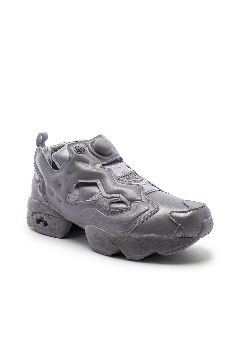 Image 1 of VETEMENTS Instapump Fury in Grey Reflective