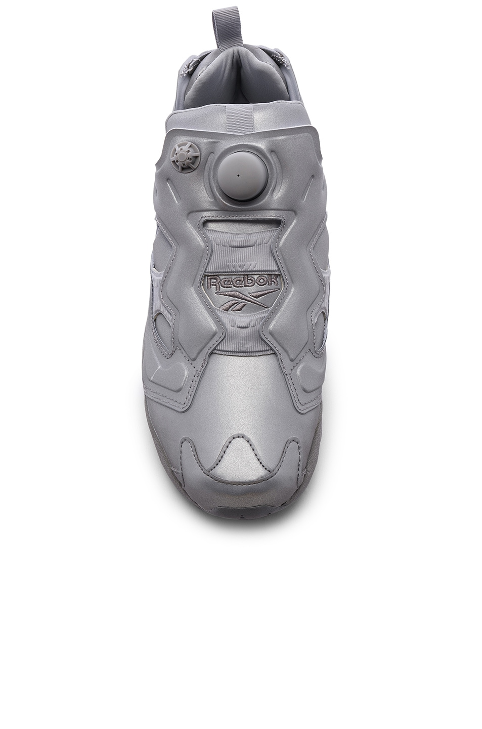 Image 4 of VETEMENTS Instapump Fury in Grey Reflective