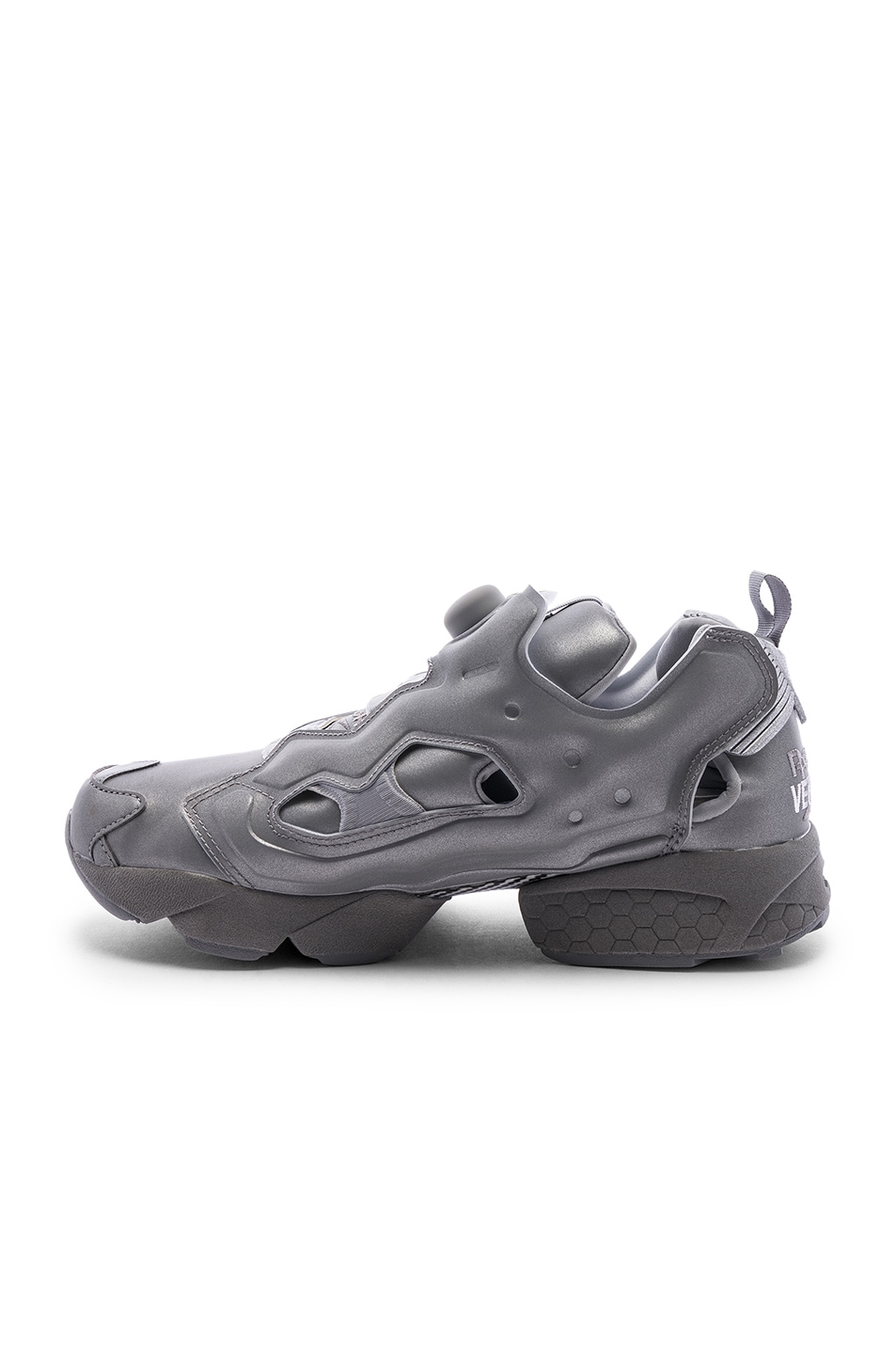 Image 5 of VETEMENTS Instapump Fury in Grey Reflective