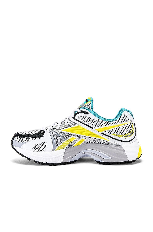 Image 5 of VETEMENTS Spike Runner 200 Sneaker in Fluo Blue