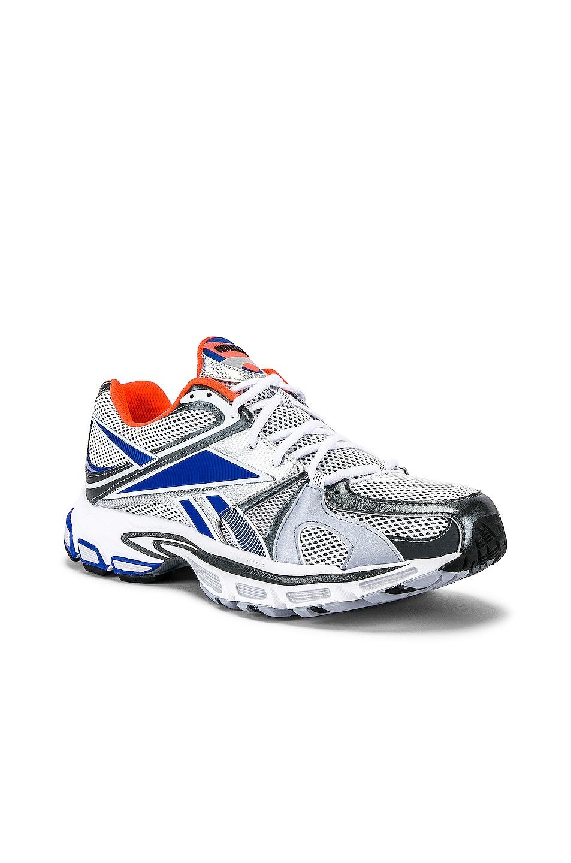 Image 1 of VETEMENTS Spike Runner 200 Sneaker in Fluo Orange