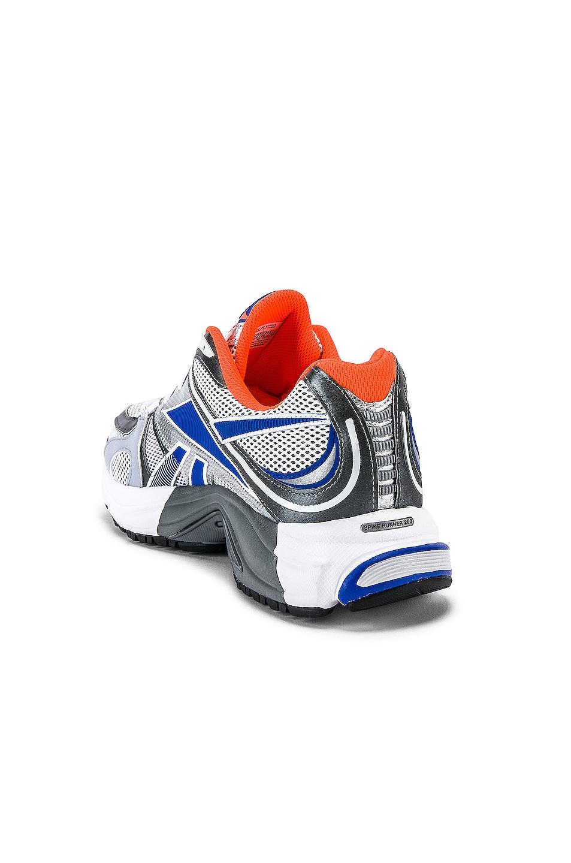 Image 3 of VETEMENTS Spike Runner 200 Sneaker in Fluo Orange
