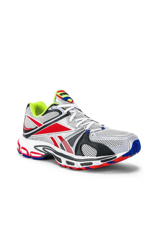 Image 1 of VETEMENTS Spike Runner 200 Sneaker in Fluo Yellow