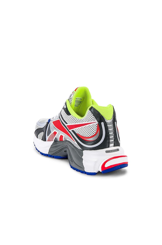 Image 3 of VETEMENTS Spike Runner 200 Sneaker in Fluo Yellow