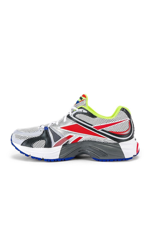 Image 5 of VETEMENTS Spike Runner 200 Sneaker in Fluo Yellow
