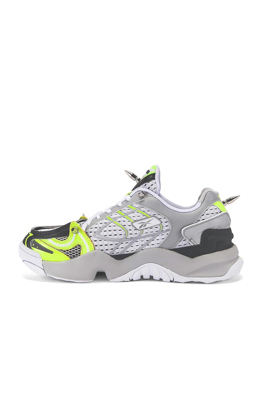 Image 5 of VETEMENTS Spike Runner 400 Sneaker in Fluo Yellow