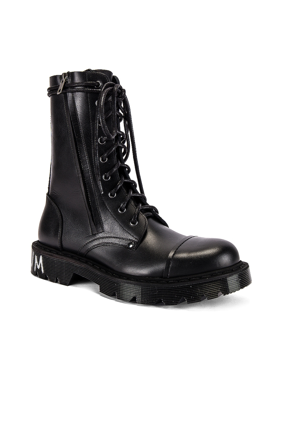 Image 1 of VETEMENTS Dominium In Rectum Army Boots in Black