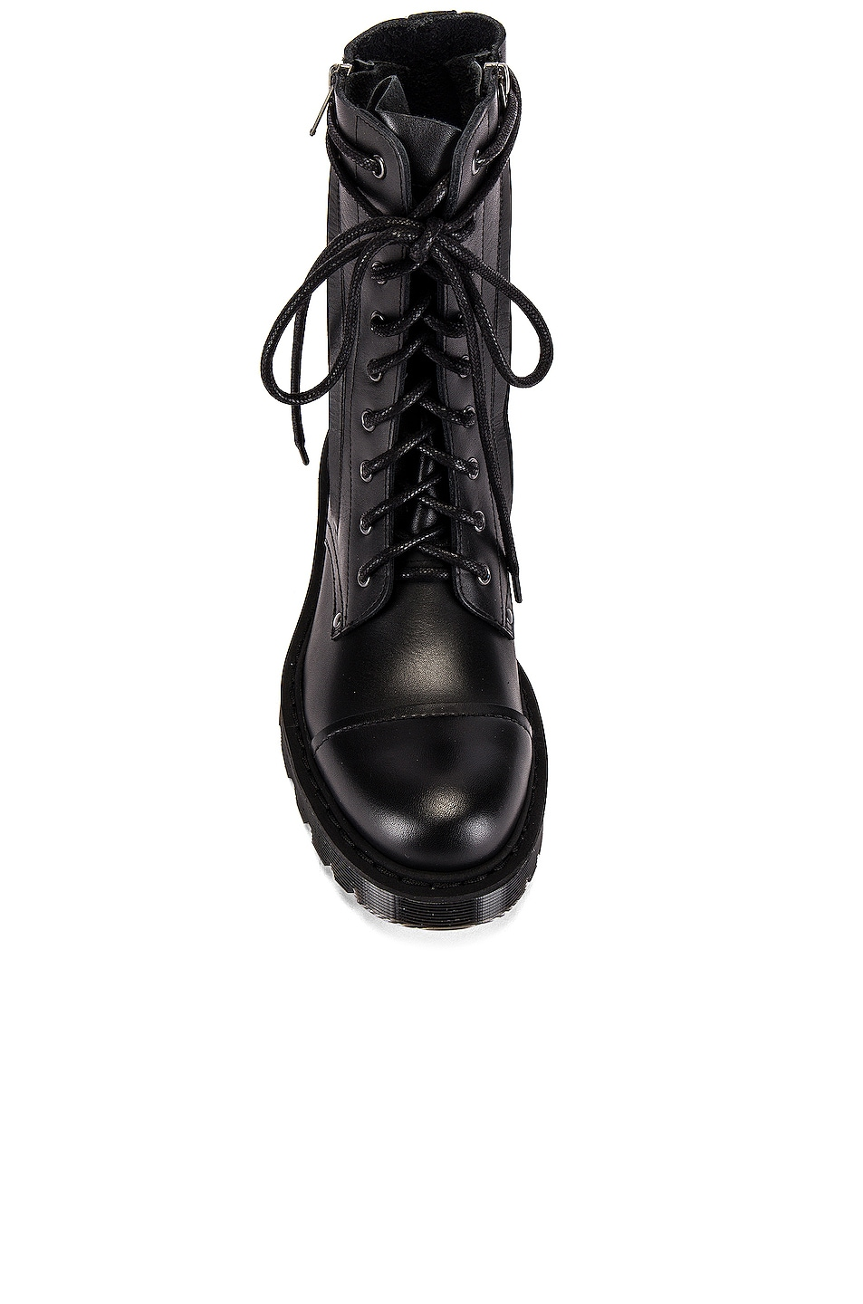 Image 4 of VETEMENTS Dominium In Rectum Army Boots in Black