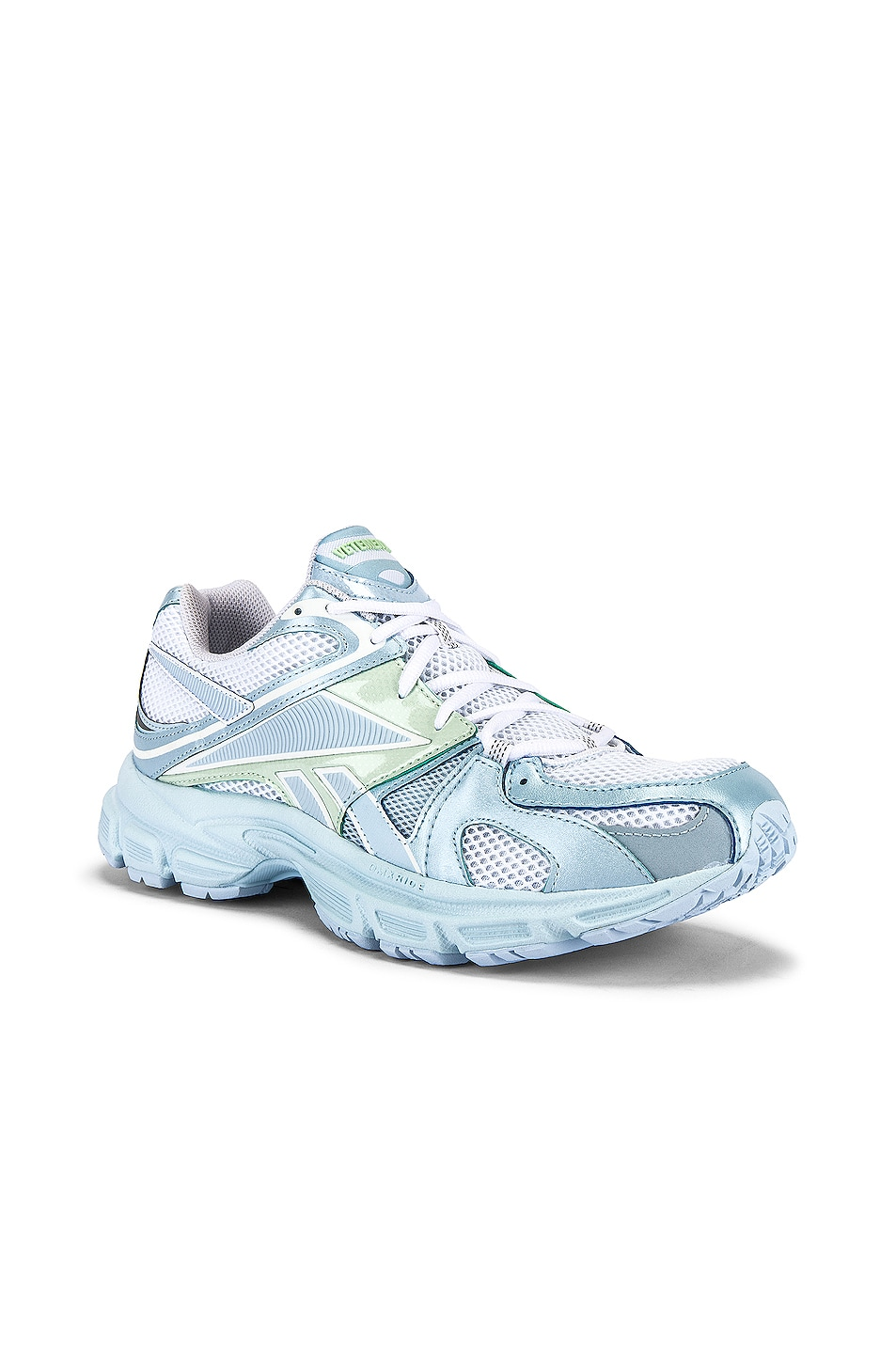 Image 1 of VETEMENTS Spike Runner 200 in Pastel Blue