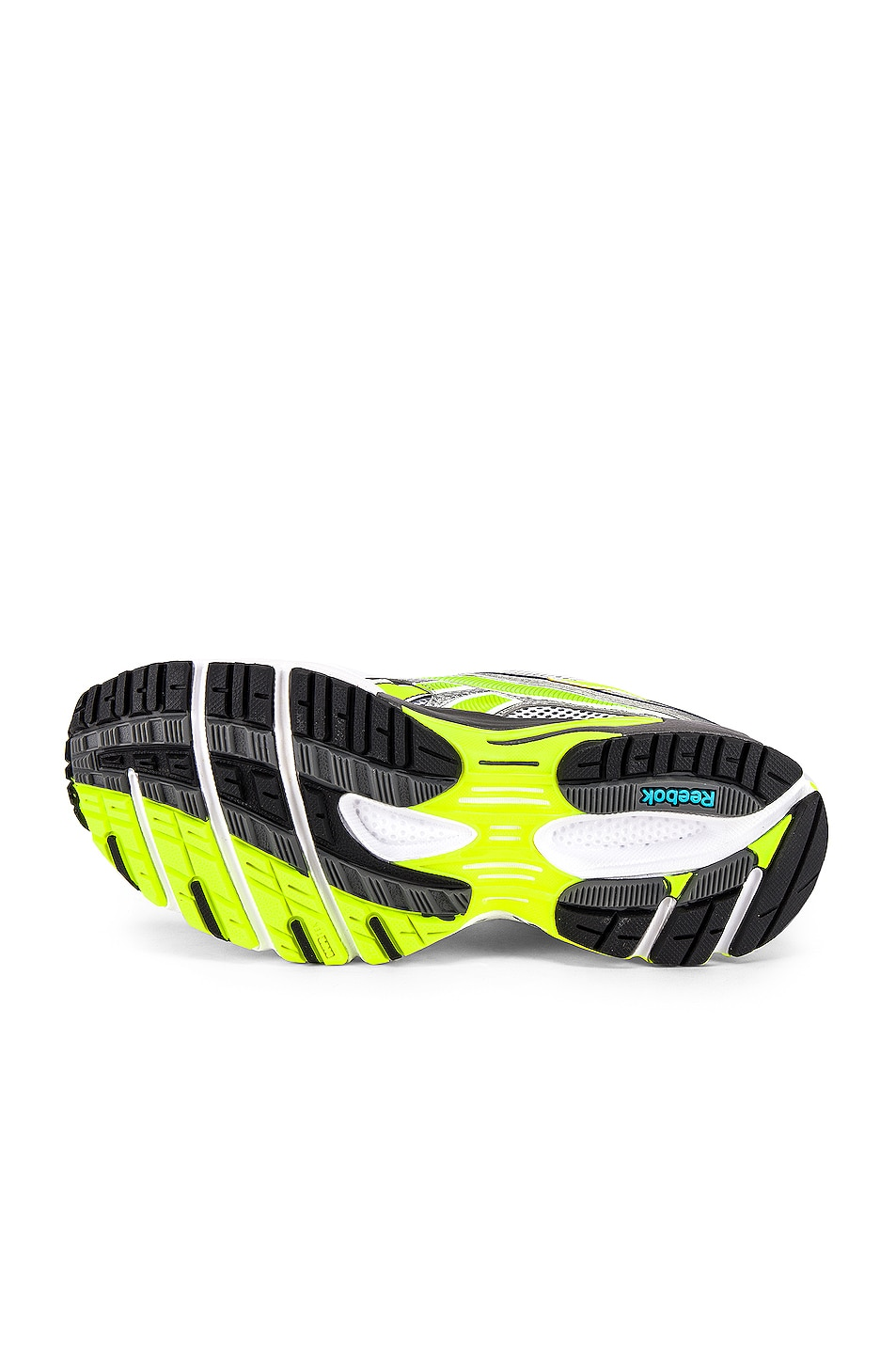 Image 6 of VETEMENTS Spike Runner 200 in White & Silver & Lime