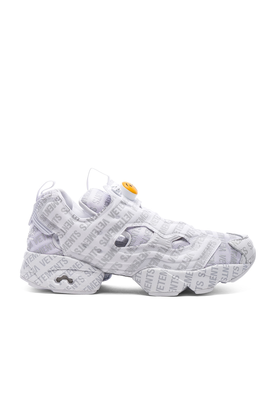 Image 3 of VETEMENTS x Reebok Logo Instapump Fury in Grey a6081aef2