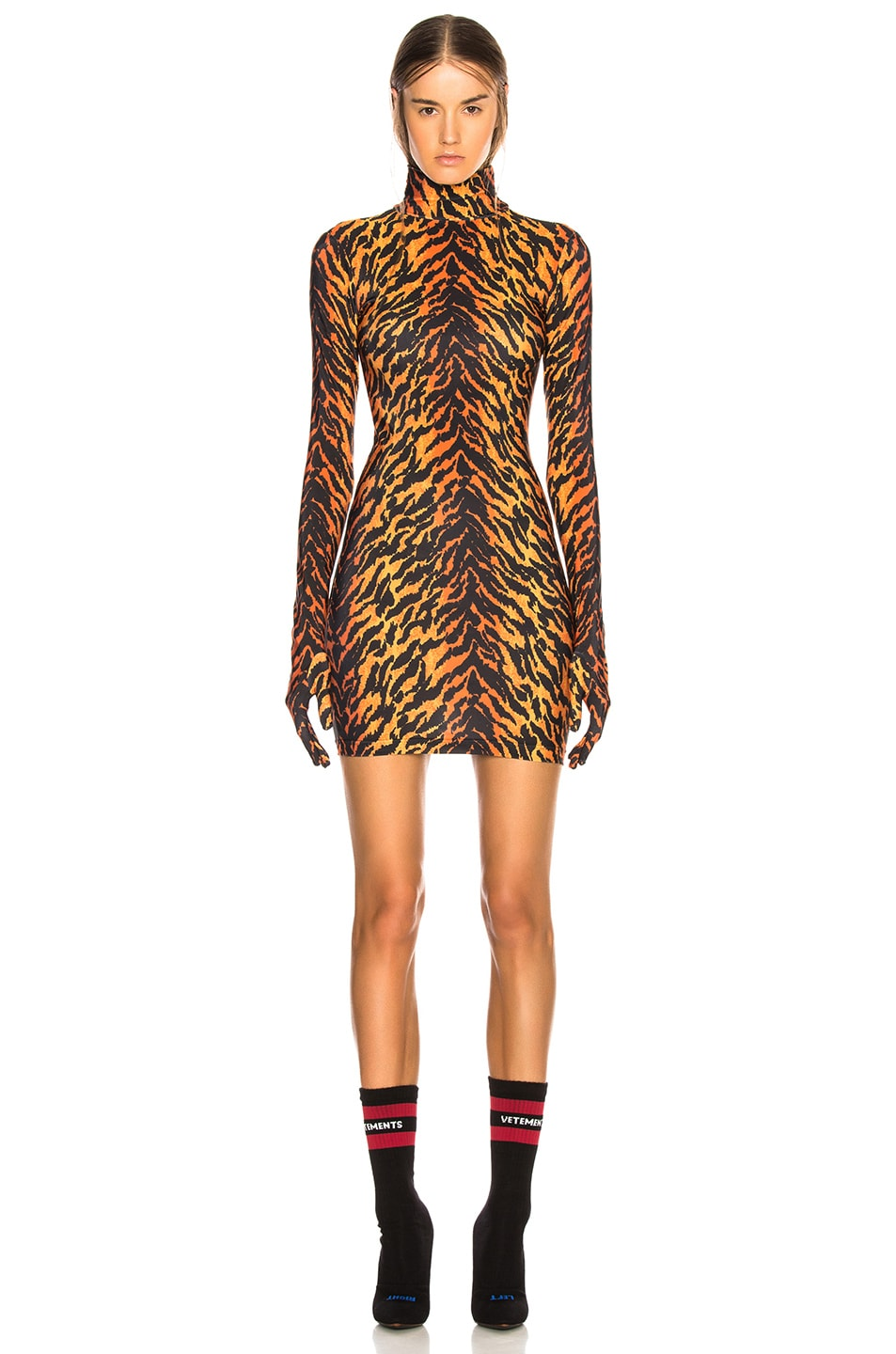 Image 1 of VETEMENTS The Styling Dress in Tiger