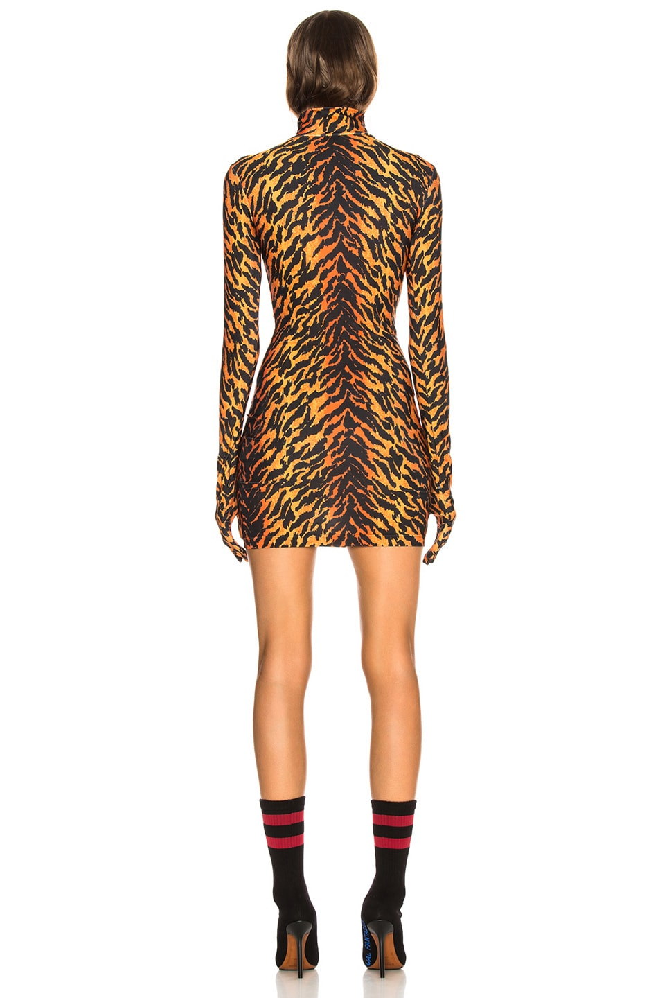 Image 3 of VETEMENTS The Styling Dress in Tiger
