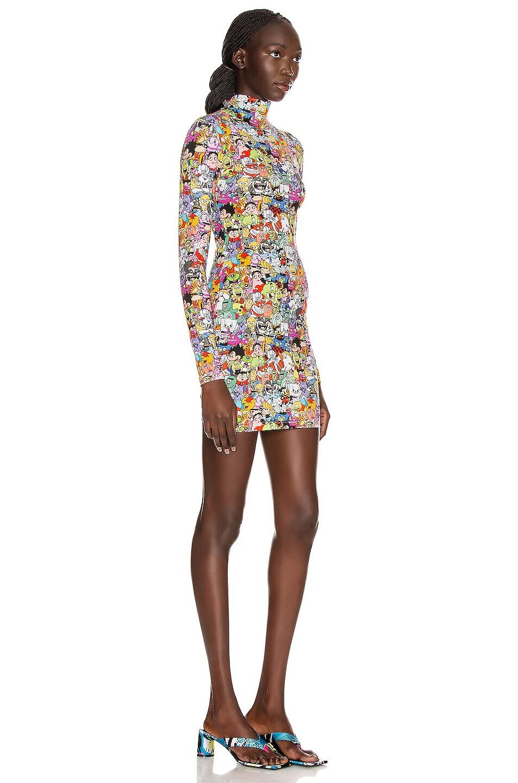 Image 2 of VETEMENTS All Over Monster Styling Dress in Vetemonster
