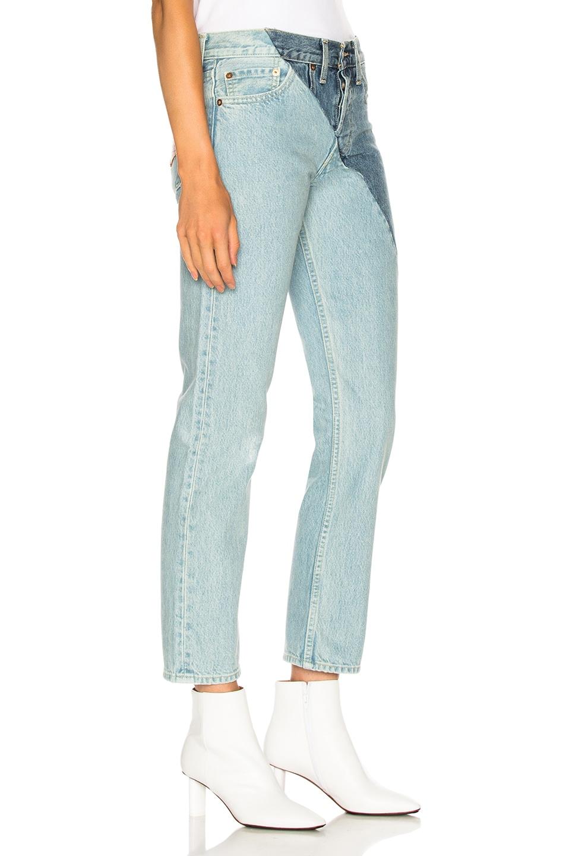 Image 2 of VETEMENTS x Levis Cross Cut Jeans in Blue