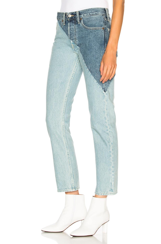 Image 3 of VETEMENTS x Levis Cross Cut Jeans in Blue