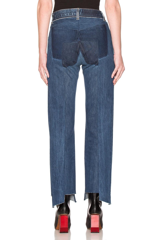 Image 4 of VETEMENTS Season 1 Jeans in Blue