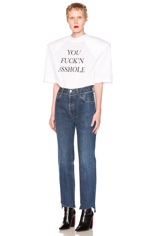 Image 5 of VETEMENTS Season 1 Jeans in Blue