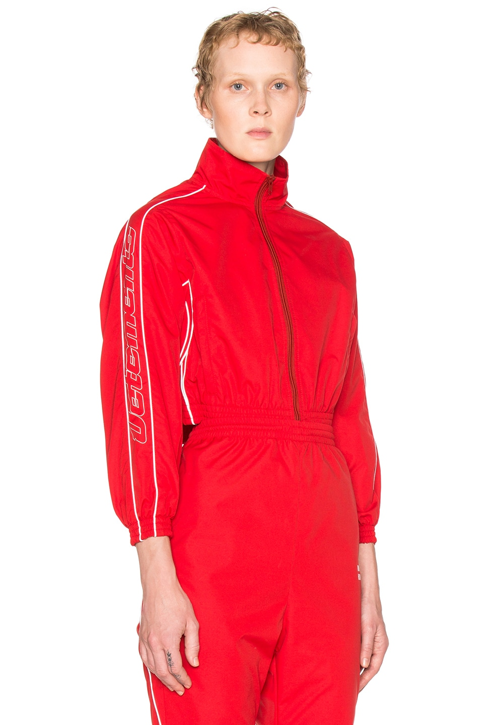 Image 1 of VETEMENTS Track Jacket in Red