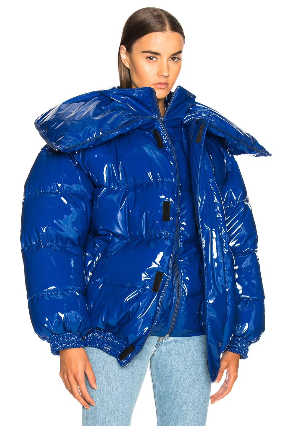 Image 2 of VETEMENTS Puffer Jacket in Blue