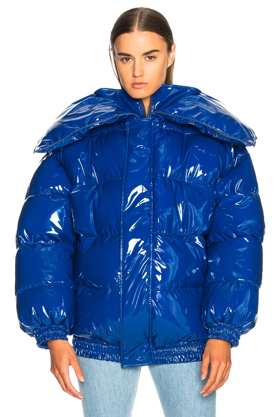 Image 3 of VETEMENTS Puffer Jacket in Blue