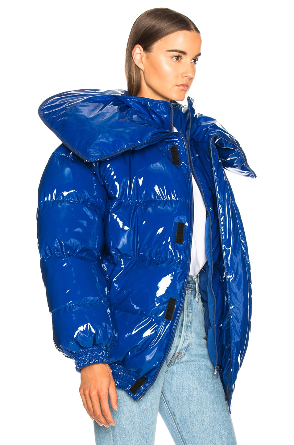 Image 4 of VETEMENTS Puffer Jacket in Blue
